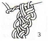 """Как связать """"Жемчужный шнур"""""""