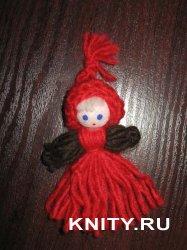 Куколка из ниток