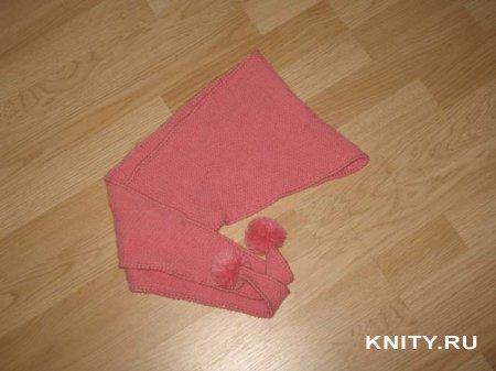 Детский шарфик-бактус