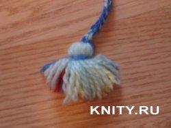 Изготовление шнурка и кисточки