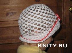 Мастер-класс по вязанию детской шляпки