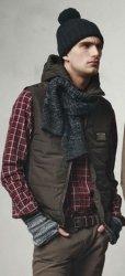Модные вязаные мужские шапки
