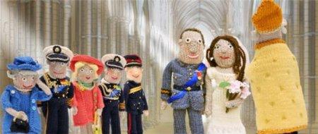 Вязаная королевская свадьба