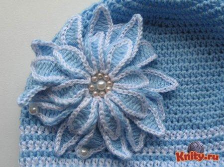 Вязание хризантемы крючком