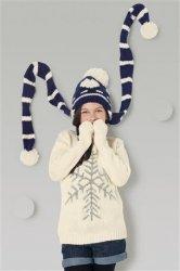 Вязаные шапочки для девочек от NEXT