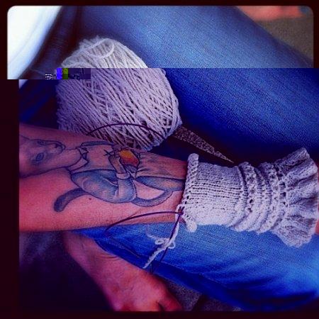 Татуировки рукодельниц