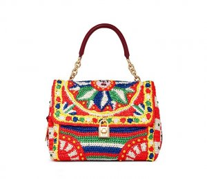 Модные вязаные сумки от  Dolce & Gabbana