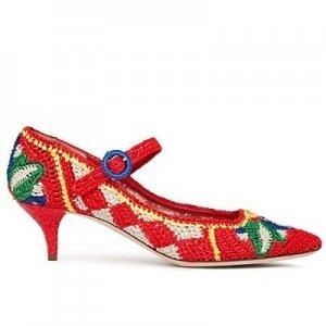 Модная вязаная обувь от Dolce & Gabbana сезона весна-лето 2013